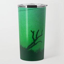 Creepy Green Scene Travel Mug