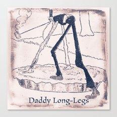 Daddy Long Legs Canvas Print