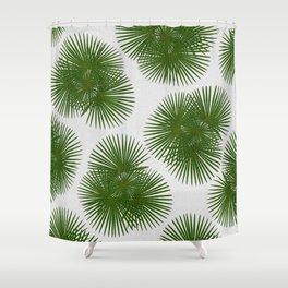 Fan Palm, Tropical Decor Shower Curtain
