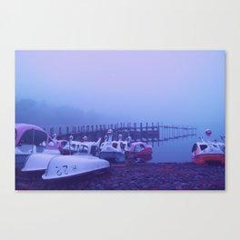 Misty Lake II Canvas Print