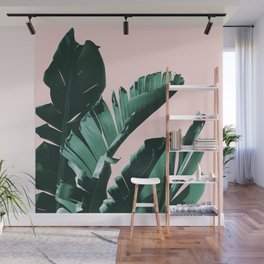Banana Leaves Finesse #3 #tropical #decor #art #society6 Wall Mural