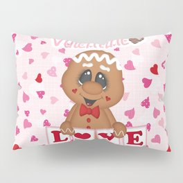 My Sweet Valentine Boy Pillow Sham