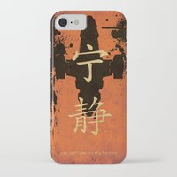 firefly iPhone & iPod Cases featuring Firefly by Edmond Lim