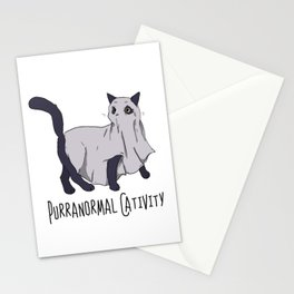 Purranormal Cativity: The Feline Dimension Stationery Cards