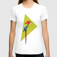 parrot T-shirts featuring parrot by William
