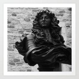 King Louis in Quebec Art Print
