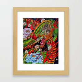 'Defend' 11''x 14'' Colored Pencil and Marker on Bristol Board 2012 Dan Gribben Framed Art Print