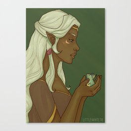 Allura - The Princess and the Space Mouse Canvas Print