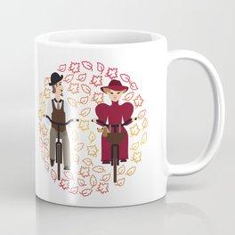 Retro cyclists Coffee Mug