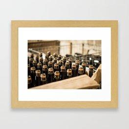 Bottling Valetta Framed Art Print