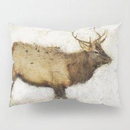 Grand Canyon Elk No. 1 Wintered Pillow Sham