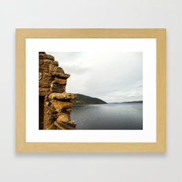 Crumbling Castle Framed Art Print
