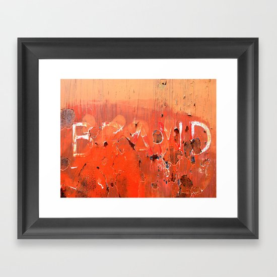 Urban Abstract 19 Framed Art Print