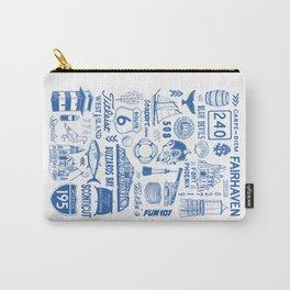 Fairhaven Massachusetts Print Carry-All Pouch
