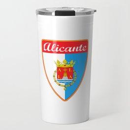 Alicante Spain Travel Mug