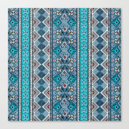 Grand Bazaar - Blue Canvas Print
