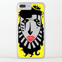 Clown Clear iPhone Case