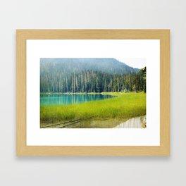 Pristine Lake Framed Art Print