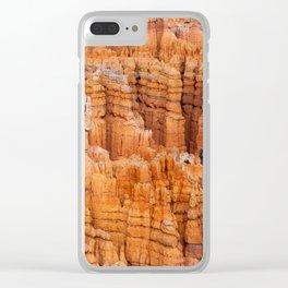 Bryce Canyon. Utah. USA Clear iPhone Case