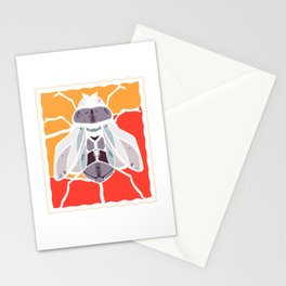 Bow tie vintage housefly vinegar fly Stationery Cards