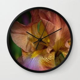 Iris Dreams Wall Clock