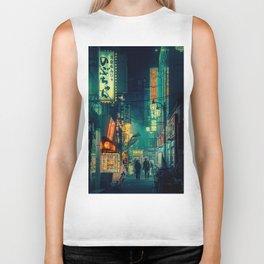 Tokyo Nights / Memories of Green / Blade Runner Vibes / Liam Wong Biker Tank