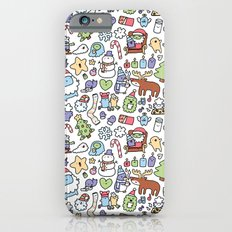 Christmas Doodle Slim Case iPhone 6