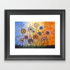 Explosion of Joy Framed Art Print