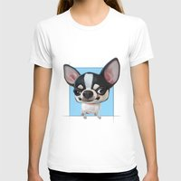 chihuahua T-shirts featuring Chihuahua by joearc