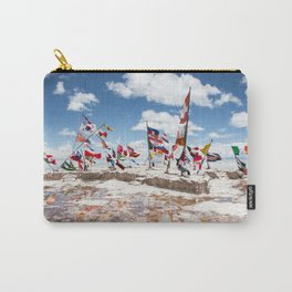 Salar de Uyuni International Flags Carry-All Pouch