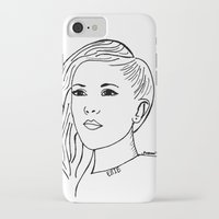 ellie goulding iPhone & iPod Cases featuring Ellie  by Rosalia Mendoza