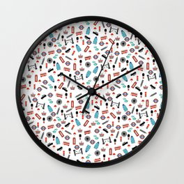 London Icons Wall Clock