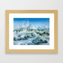Wavespiration Jo Framed Art Print