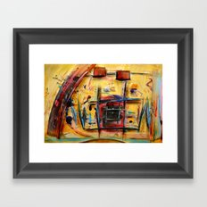 Acryl-Abstrakt 32 Framed Art Print