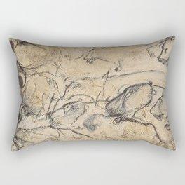 Aurignacian Art Rectangular Pillow