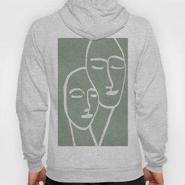 Abstract Masks Hoody