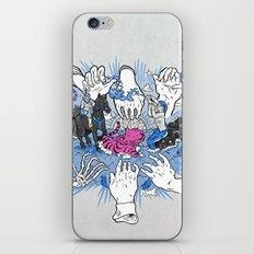 Foul Fingers iPhone & iPod Skin