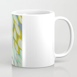 Falling into Blue Leaves Coffee Mug