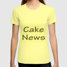 Cake News - Allusion to May in Salzburg T-shirt