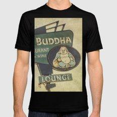 Big Buddha MEDIUM Black Mens Fitted Tee