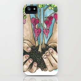 Hold Your Hearts iPhone Case