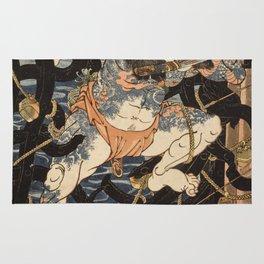 Utagawa Kuniyoshi  - One Hundred And Eight Heroes Rug