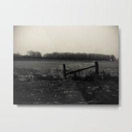 Desolation Fence Metal Print