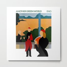 another green world Metal Print