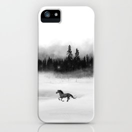 Soloveï, inspired by the Bear and the Nightingale, Russian Folklore iPhone Case