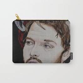 Misha Collins 2., acrylic painting Carry-All Pouch