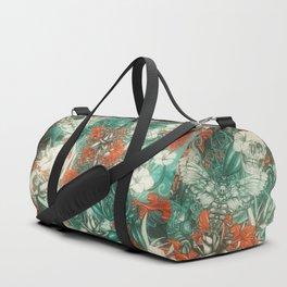 Sixth Mix Blue Duffle Bag