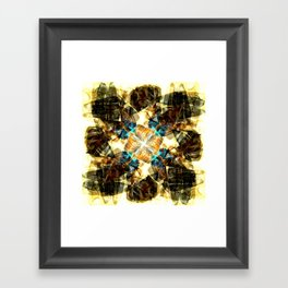 Kaleidoscope -Shoes Framed Art Print