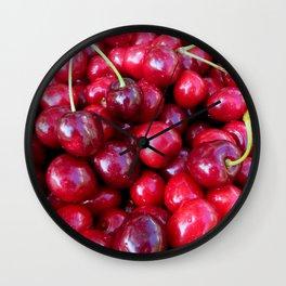 Cherry Cherry Lady Wall Clock