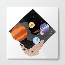 Space Mage Metal Print